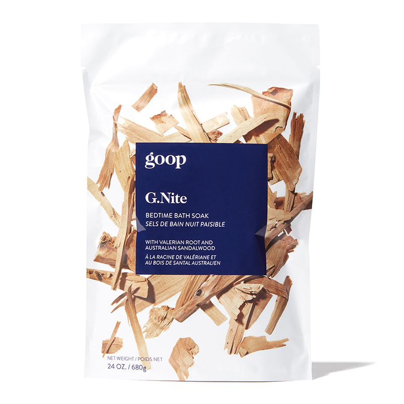 Prepare a bath with a cup of this stress-reducing soak, made with a blend of salts and minerals, botanicals and essentials oils. 