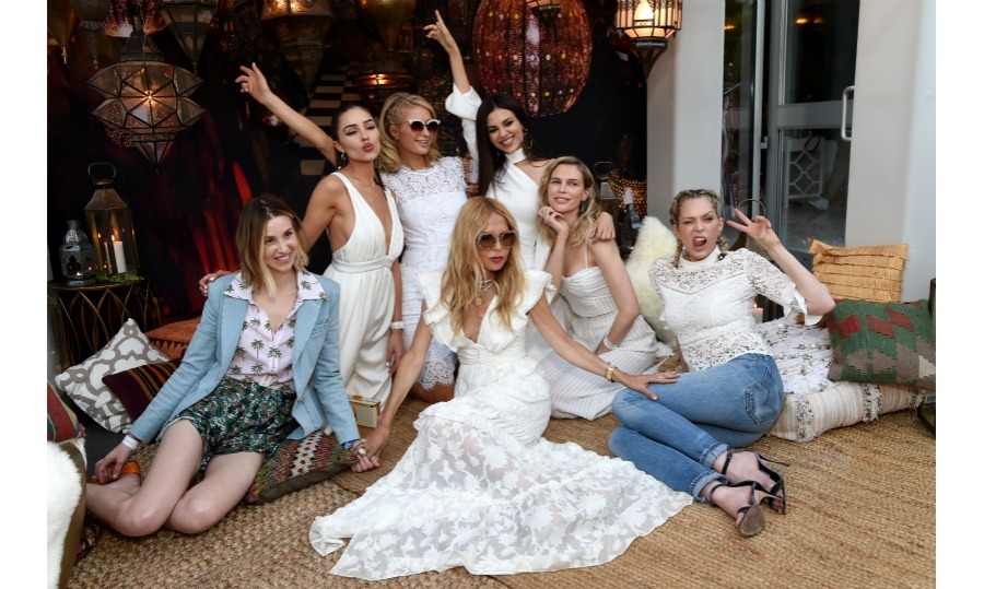 <p>Ladies in white! Belvedere Vodka's new flavor Ginger Zest, celebrated Rachel Zoe's 4th annual ZOEasis Retreat during festival season. The designer and her team transformed The Parker Palm Springs hotel into a majestic Moroccan soiree. </p>