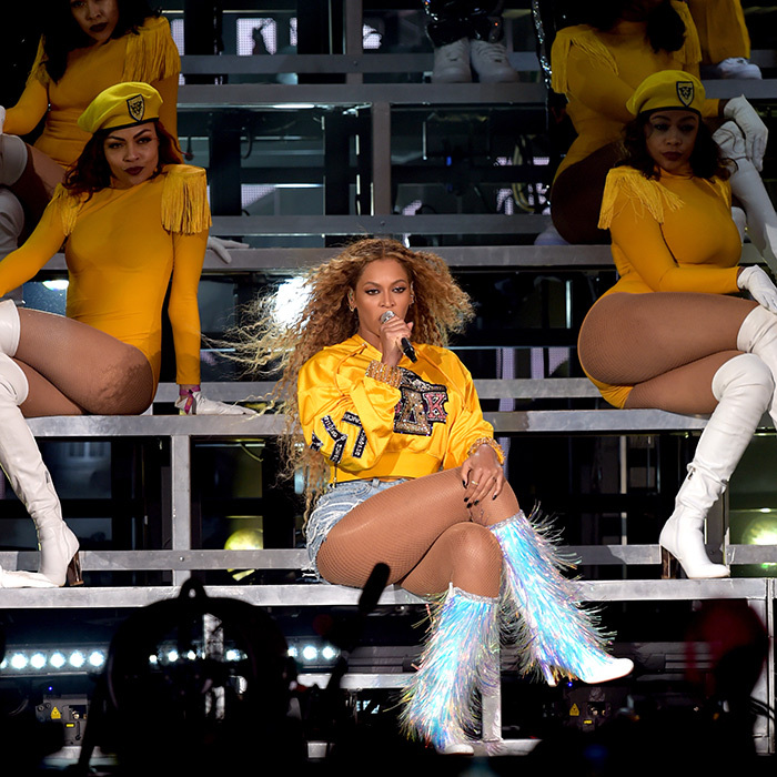 "<p>Beyoncé made Coachella history! She became the first black woman to headline the annual music festival, and her fans adoringly renamed the entire event ""Beychella,"" just for her. She slayed the crowd with her pitch-perfect vocals for two straight hours.</p>