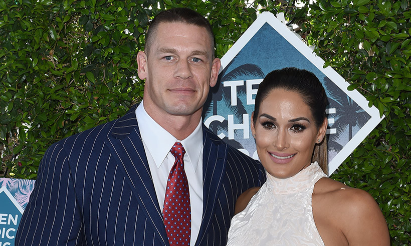 <h2>John Cena and Nikki Bella</h2>