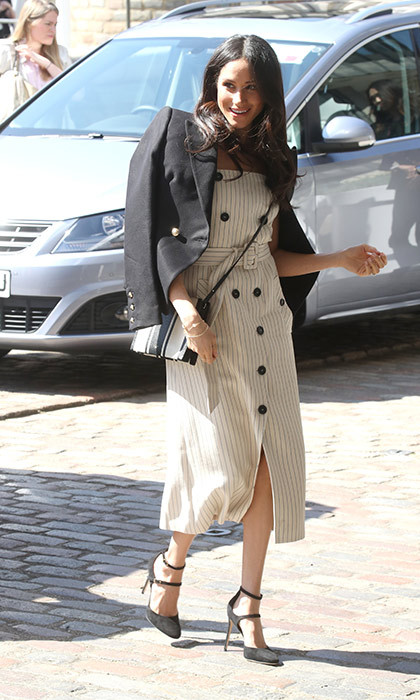 <p>Meghan served us some major spring wardrobe inspiration!</p>
