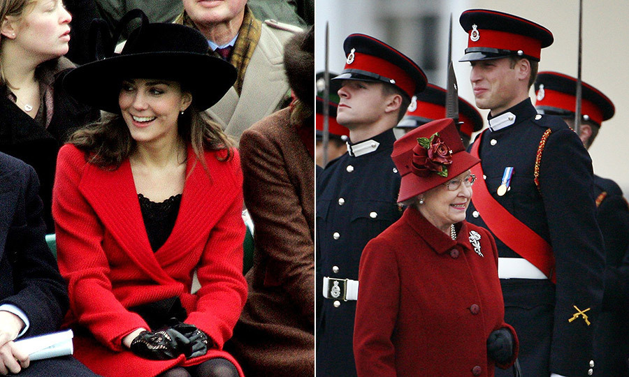 <h2>THE FIRST... 'FACE IN THE CROWD' MOMENT</h2>