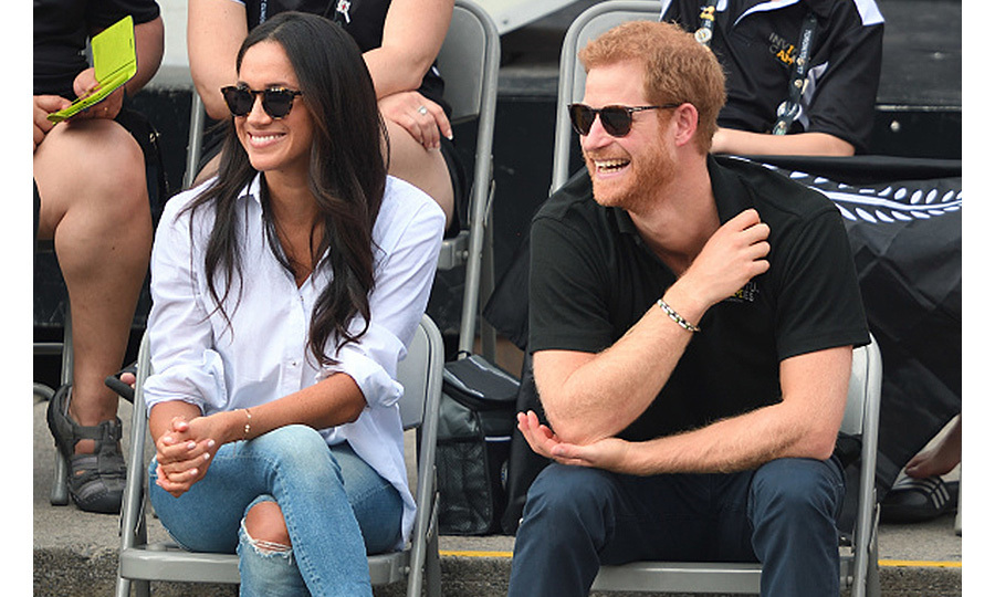 <p>In September 2017, Prince Harry and Meghan Markle made their first public appearance as a couple at the Invictus Games in Toronto. The city was the perfect location for Meghan's debut because she was living there as she shot her TV show <em>Suits</em>.</p>