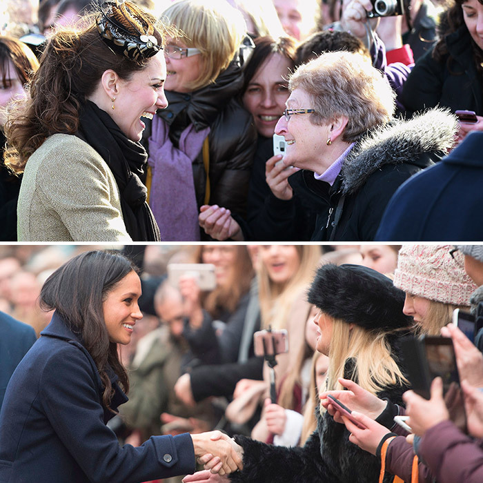 <h2>THE FIRST... ROYAL WALKABOUT</h2>