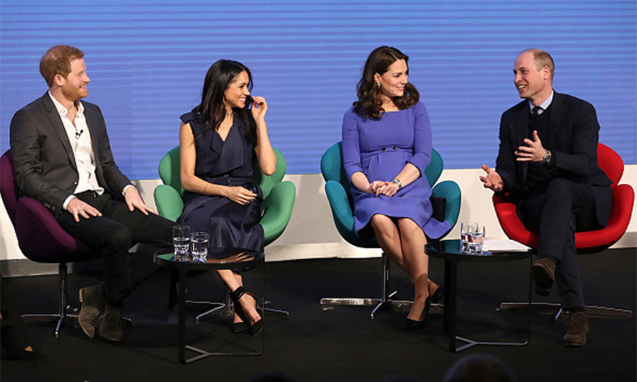 <h2>THE FIRST... OFFICIAL ENGAGEMENT WITH BOTH WILLIAM AND HARRY</h2>