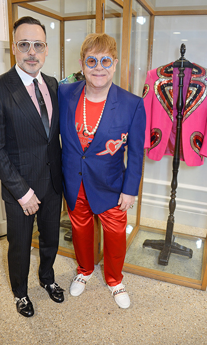 <p>Elton John oozed cool while at the launch of the Gucci Elton John Capsule on April 17.</p>