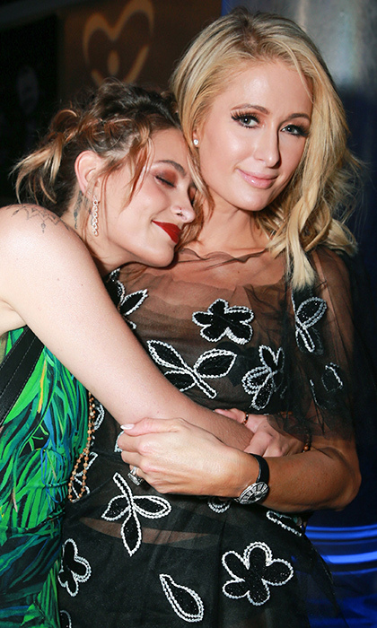 <p>Besties with the same name! Paris Jackson and Paris Hilton shared a sweet hug while at the CASA Of Los Angeles' 2018 Evening To Foster Dreams Gala on April 18.</p>