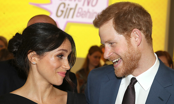 "<p><a href=""https://ca.hellomagazine.com/tags/0/prince-harry""><strong>Prince Harry</strong></a> and <a href=""https://ca.hellomagazine.com/tags/0/meghan-markle""><strong>Meghan Markle</strong></a> have certainly had a busy week! The loved-up pair looked incredibly smart on Thursday evening (April 19) while attending a Women's Empowerment reception in London, hosted by Foreign Secretary Boris Johnson.