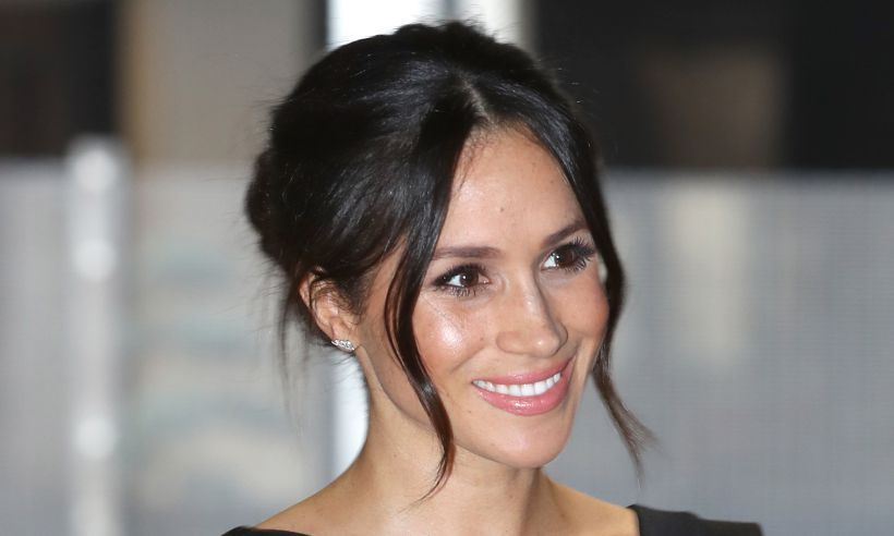 Meghan Markle Pairs A Little Black Dress With Birks Earrings At Women S Emment Event