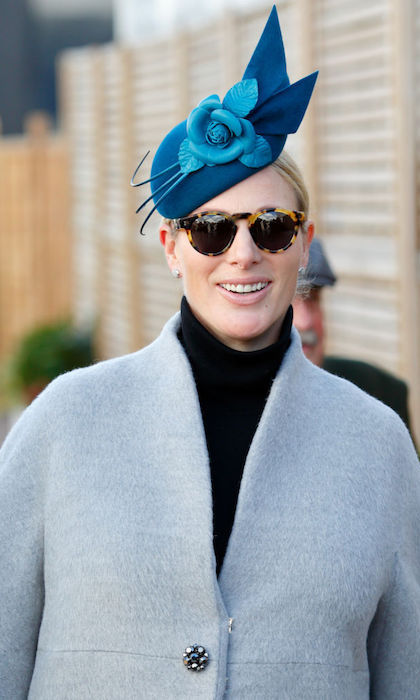 <h2>Zara Tindall's stylish tortoiseshell frames</h2>