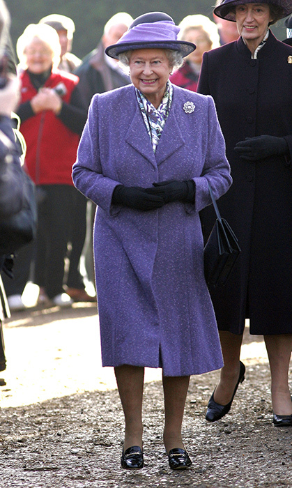 <p>Her Majesty looked her best while attending a service at Norfolk's West Newton Church in 2007.