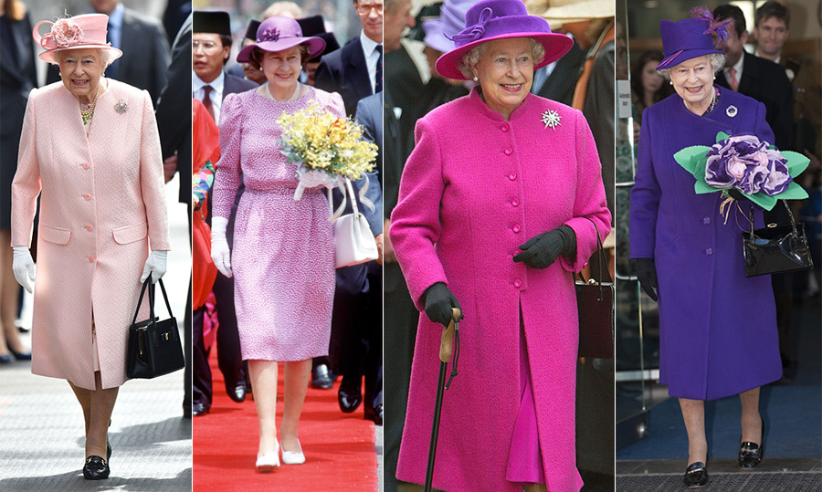 "<p>There really isn't a colour that Her Majesty hasn't worn, and she looks fabulous in all of them. From peachy pinks to bold magentas to deep purple tones, the Queen shines in any ensemble she puts together. From South East Asian tours to Princess Margaret's wedding to hosting duties at Windsor Castle, Queen Elizabeth II has showcased some of her best pieces from pink to purple. ""It's all made a lot easier by the fact the Queen is a professional and knows what she wants,"" german designer Karl-Ludwig Rehse said.</p> 
