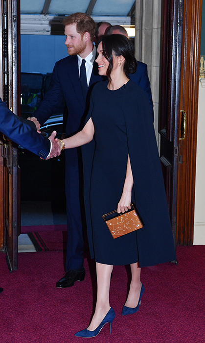 <p>The royal couple arrived at the Queen's 92nd birthday celebration on the evening of April 21 at the Royal Albert Hall.