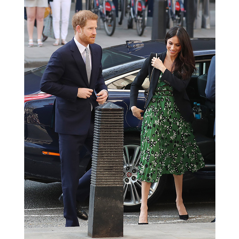 <p>On April 21, Prince Harry and Meghan Markle attended an Invictus Games reception at Australia House in London.