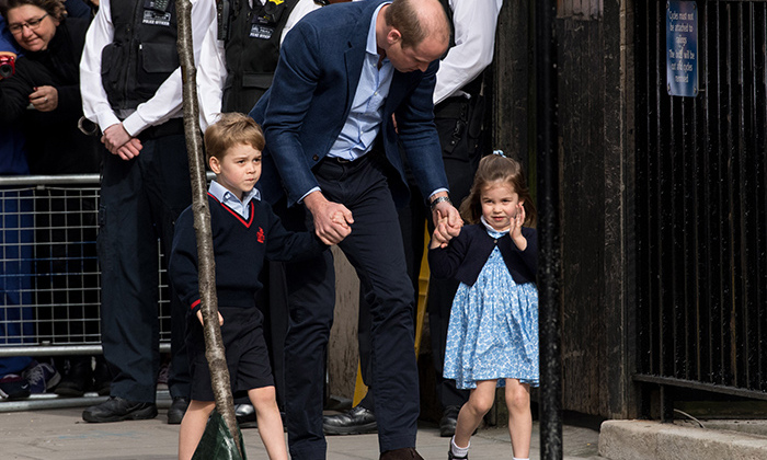 <p>Prince George and Princess Charlotte are officially big siblings to their little brother.