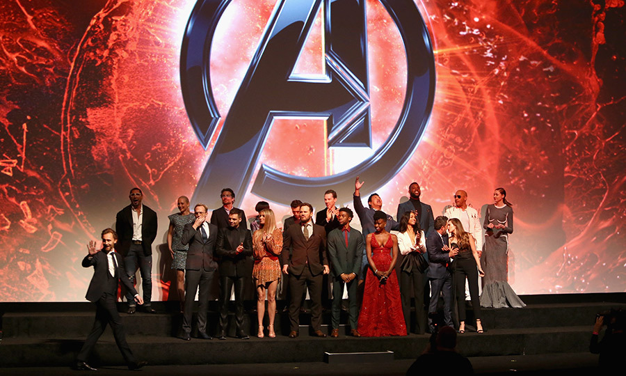 <p>The <em>Avengers</em> cast took to the stage following the incredible world premiere in LA.</p>