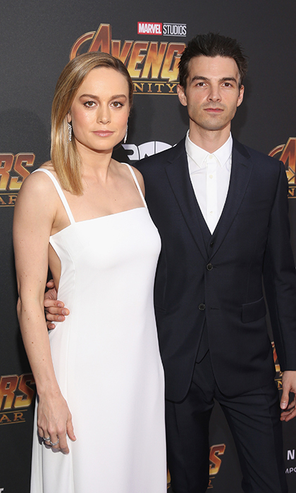 <p>Brie Larson made an appearance at the event alongside her musician fiancé, Alex Greenwald, of the band Phantom Planet.</p>