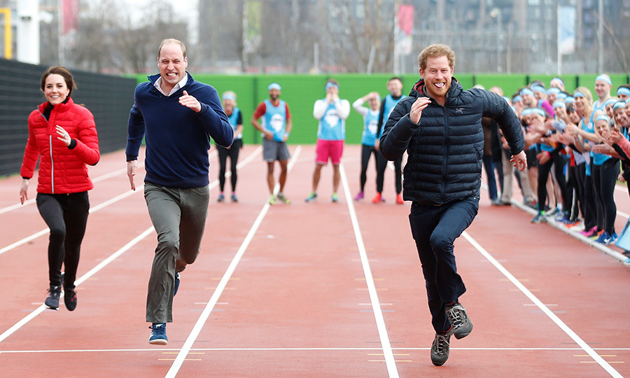 <p>Prince William clearly blew the Duke and Duchess of Cambridge out of the water with this race!</p>