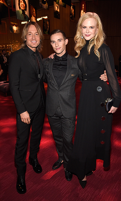 <p>Could this be our new favourite trio? Keith Urban, olympian Adam Rippon and Nicole Kidman got cozy at the Time 100 Gala.</p>