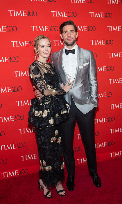 <p>One of Hollywood's favourite couples, Emily Blunt and John Krasinski, made a glamorous appearance, too!</p>