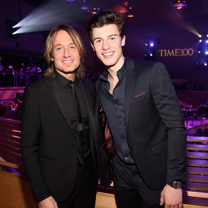 <p>We love when our favourites collide. Keith Urban and Shawn Mendes looked happy as clams at the gala.</p>