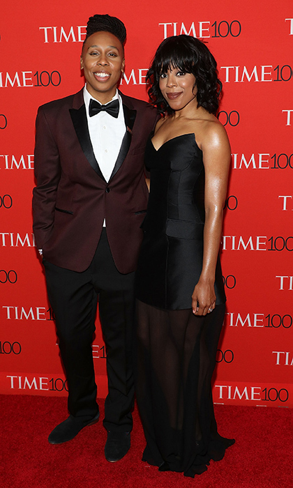 <p><em>Master of None</em> co-writer and star Lena Waithe stopped for a snap with fiancée Alana Mayo.</p>