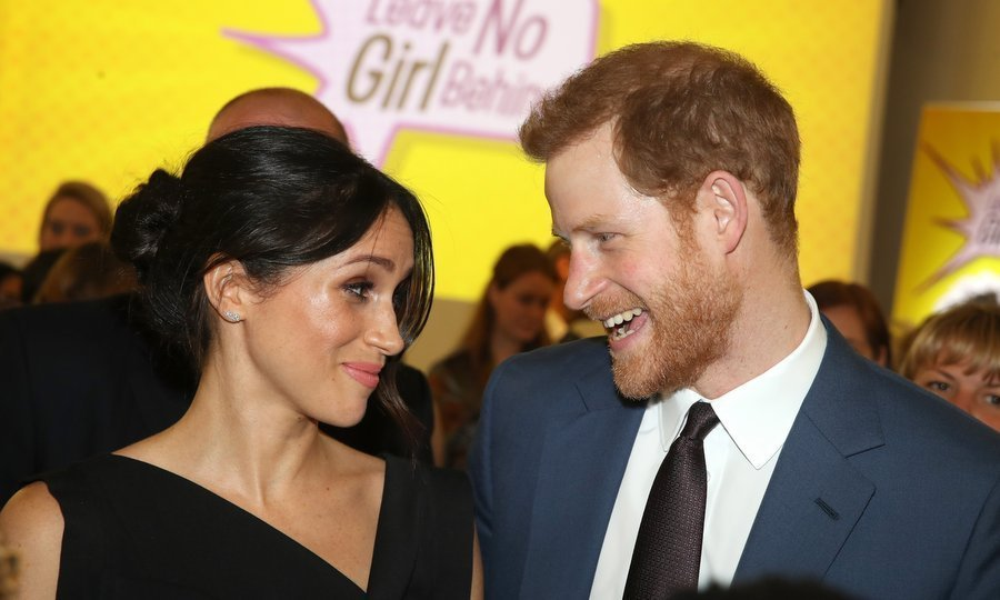 <p>On April 19, Meghan and Harry shared a joke as the two attended the the Women's Empowerment reception in London hosted by Foreign Secretary Boris Johnson.</p>