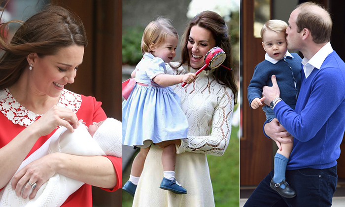 As their family continues to grow, doting parents Prince William and Kate continue to give fans glimpses of their loving family life. From official portraits and tours to candid moments caught on camera, the now-family of five (little Prince Louis joined the fold on April 23, 2018), we've rounded up some of the family of five's sweetest family moments...