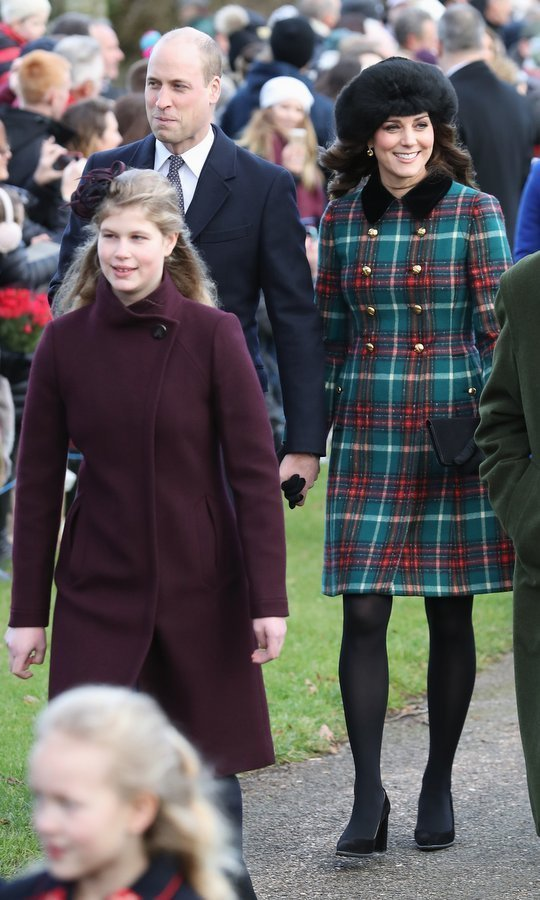 In December 2017, the Duke and Duchess of Cambridge arrived to the traditional Christmas church service at Sandringham hand in hand. The pair joined Prince Harry and his future bride Meghan as she joined the Royal Family on the festive occasion for the first time.