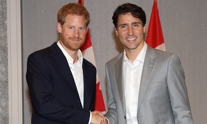 While Harry and Prime Minister Justin Trudeau got to know each other during last year's Invictus Games in Toronto, the politician will not be attending the royal wedding. 