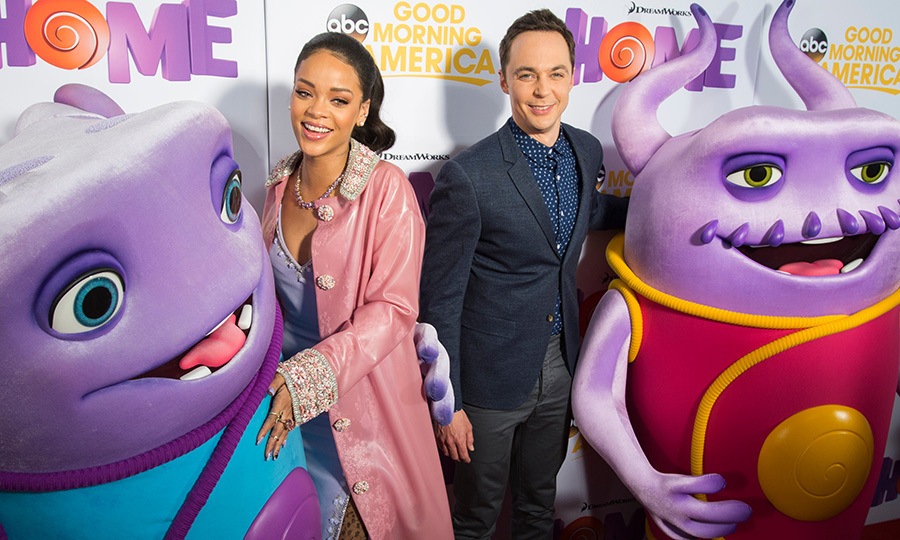 <h2>Rihanna and Jim Parsons</h2>