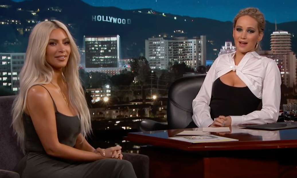 <h2>Kim Kardashian and Jennifer Lawrence</h2>