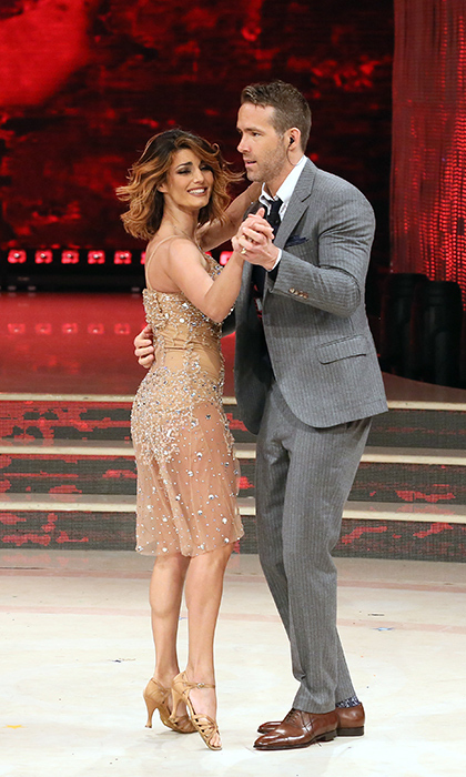 <p>Ryan Reynolds is the full package! He's hilarious, a great father and husband <em>and</em> he even had some moves. The <em>Deadpool</em> star showed off some fancy footwork with his dance partner Samanta Togni on the Italian version of the show <em>Dancing with the Stars</em> on May 5.</p>