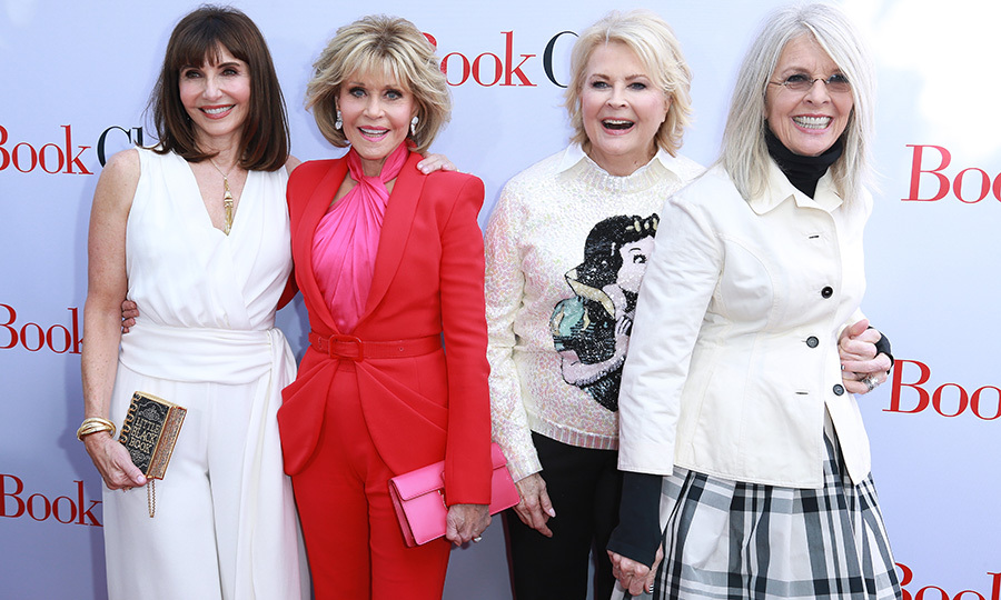 <p>Mary Steenburgen, Jane Fonda, Candice Bergen and Diane Keaton were the ultimate girl squad at the premiere of <em>Book Club</em> on May 6.</p>