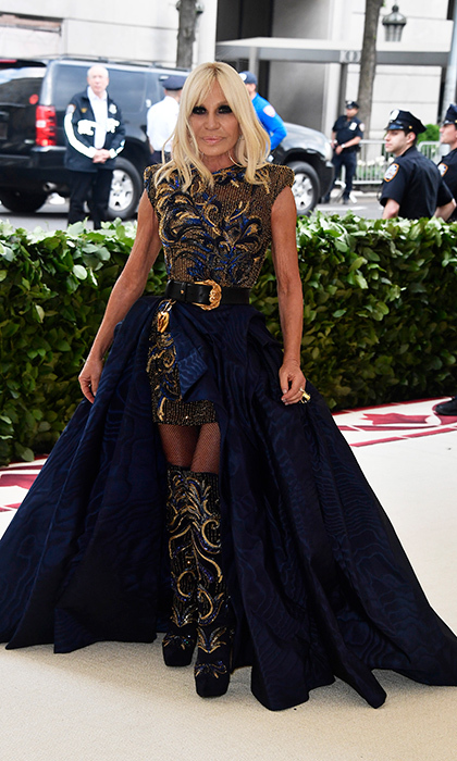 <h2>Donatella Versace</h2>