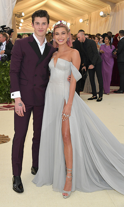 <h2>Shawn Mendes and Hailey Baldwin</h2>