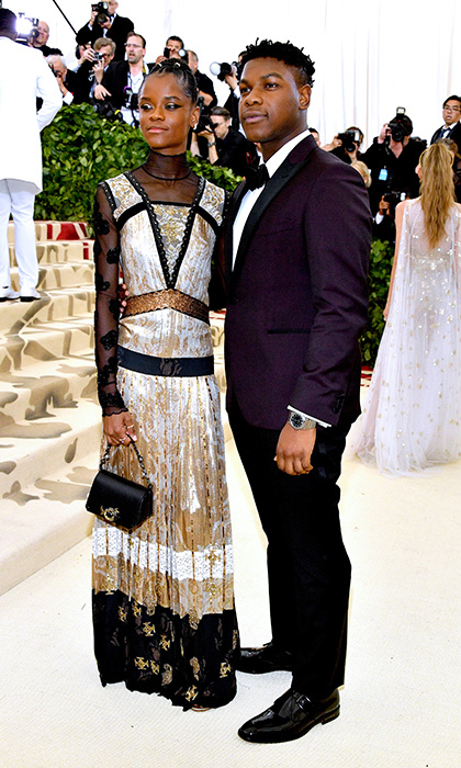 <h2>Letitia Wright and John Boyega</h2>