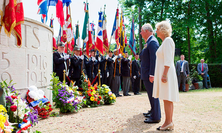 <p>Prince Charles and Camilla attended a ceremony to mark the 73rd anniversary of the end of World War II in the south of France.</p>