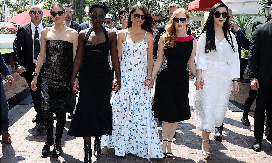 <p>Do we have a Cannes 'Fab Five' on our hands? Marion Cotillard, Lupita Nyong'o, Penelope Cruz, Jessica Chastain and Fan BingBing gave us major girl squad envy while heading to a cocktail party for their film <em>355</em>.</p>