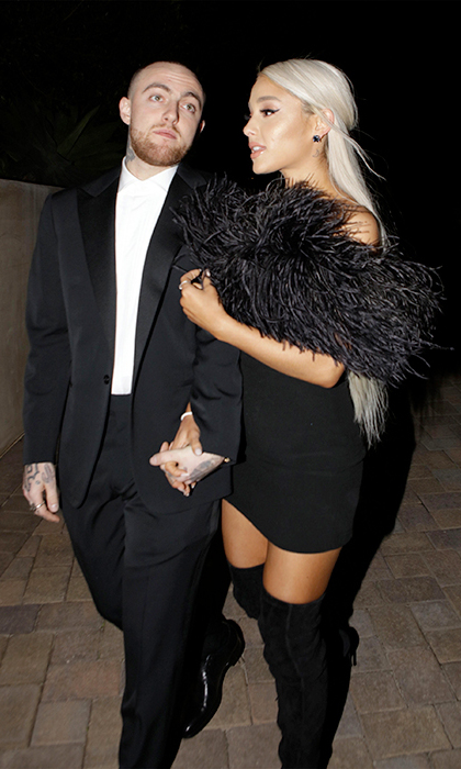 <h2>Mac Miller and Ariana Grande</h2>