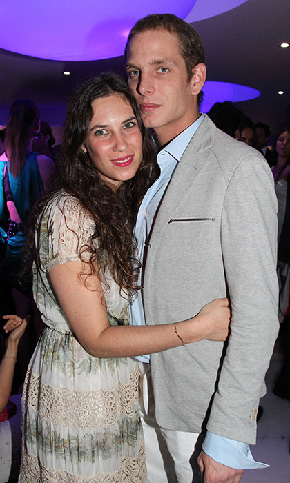 Royal couple Andrea Casiraghi and Tatiana Santo Domingo, then still unmarried, made it a date night at the Grisogono Glam Extravaganza at Hotel Du Cap Eden-Roc in 2012.
