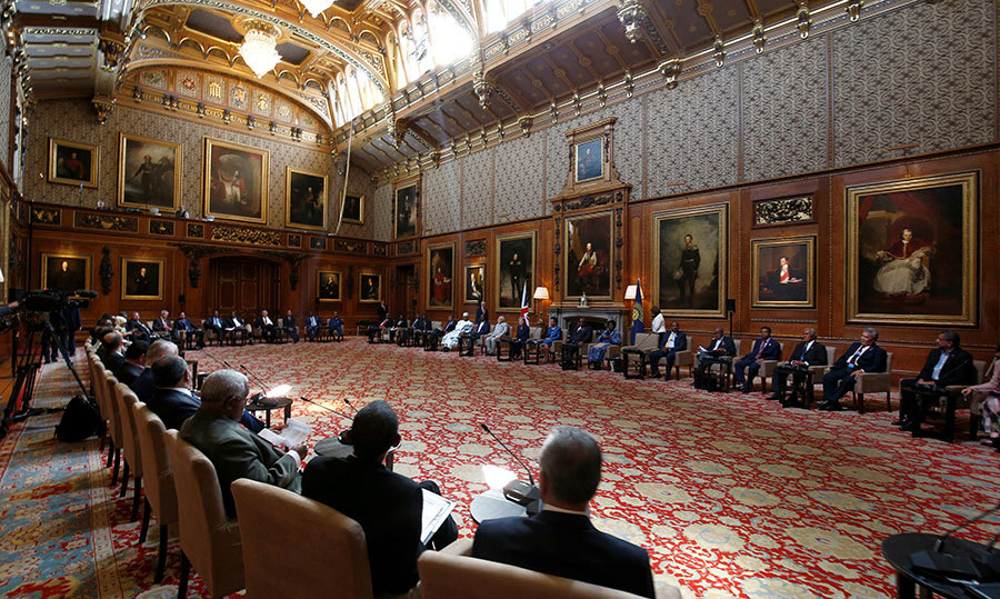 <p>Part of the reception will also take place in the Waterloo Chamber, another room near St. George's Hall, where other important events have occurred, like this year's Commonwealth Heads of Government meeting.</p>