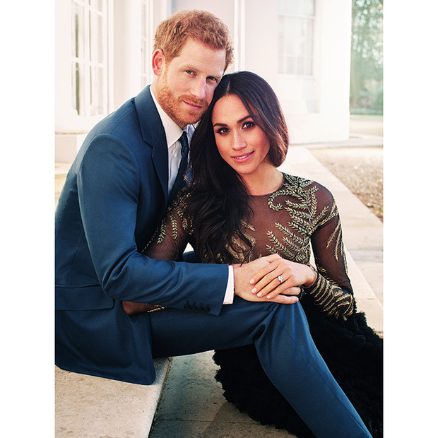 "<p>Meghan and Harry looked positively smitten with one another <a href=""https://ca.hellomagazine.com/royalty/02017122141077/prince-harry-meghan-markle-candid-engagement-photo""><strong>in their official engagement portraits</strong></a>, which were taken on the Frogmore House grounds. Here, the soon-to-be married couple sat on the steps of the house, where they'll let loose and celebrate their big day with their nearest and dearest just a few months later.</p>