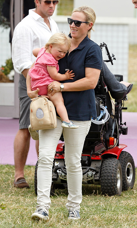 <h2>When Zara laughed off Mia's mood</h2>