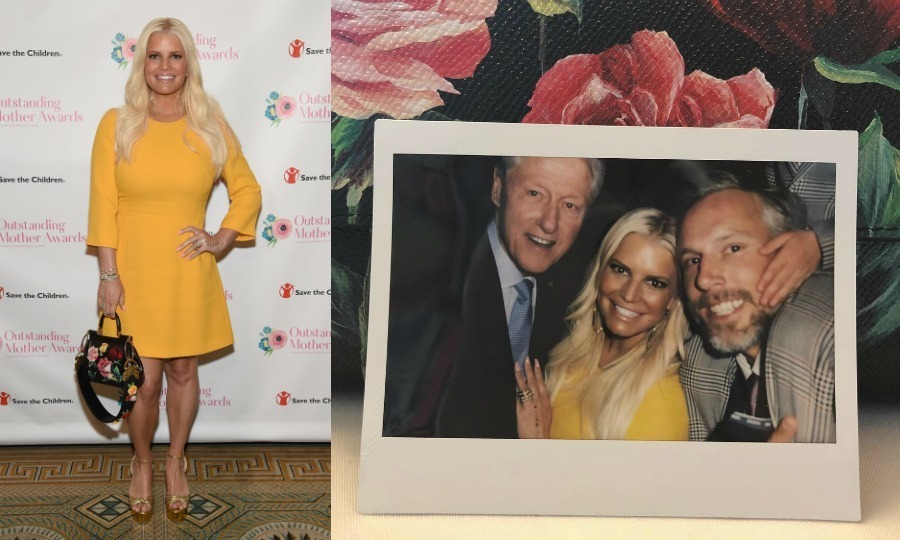 <p>Jessica Simpson is giving us major #MomGoals! The singer took the stage at the Outstanding Mother Awards in NYC on May 11, joined by her husband Eric Johnson at the event. The mom of two had the chance to say a few words at the meaningful ceremony before a crowd that included former president Bill Clinton!</p>