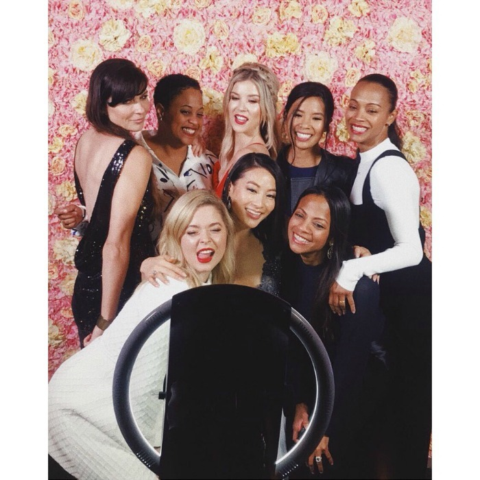"<p>Zoe Saldana and the cast of <em>The Honor List</em> stepped out at the film's premiere in London on May 10. The actress shared some photo booth fun on her Instagram, writing: ""Congratulations to the cast and crew of @honorlistmovie! Beautiful film - so proud of you"".</p>