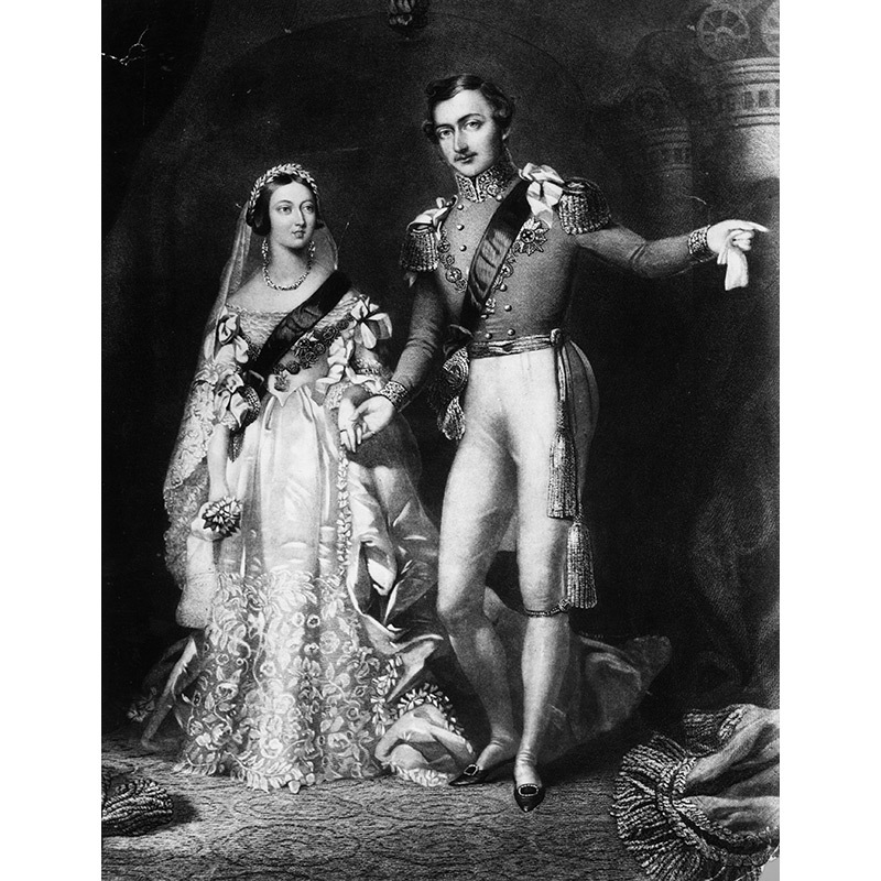 <h2>9. When Queen Victoria wore a white dress on her wedding day in 1840, she was actually breaking with tradition.</h2> Believe it or not, Victorian brides often wore red! Her husband, prince Albert, started the trend of royal grooms wearing military dress, a tradition that Prince Harry is expected to preserve. 