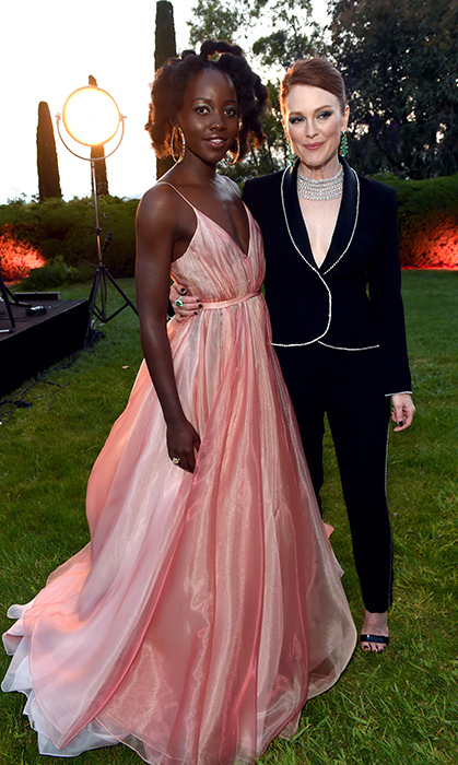 <p>Two completely different looks by two of the most talented women in Hollywood, Lupita Nyong'o and Julianne Moore!</p>