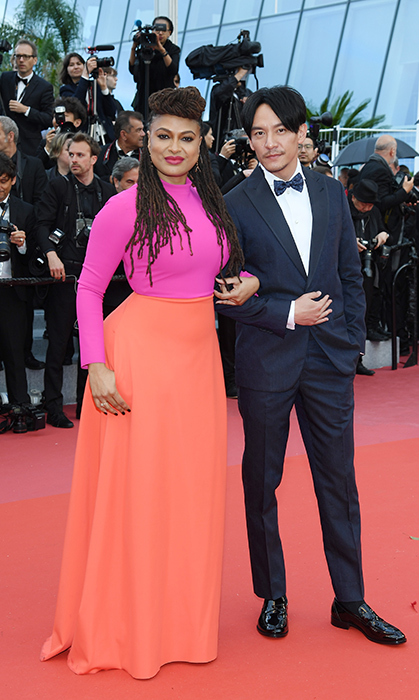 <p>Ava DuVernay kept things colourful as she walked the red carpet, arm-in-arm with Chang Chen.</p>