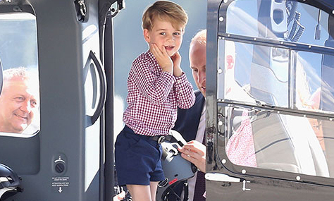 why prince george only wore pants for the first time at. Black Bedroom Furniture Sets. Home Design Ideas